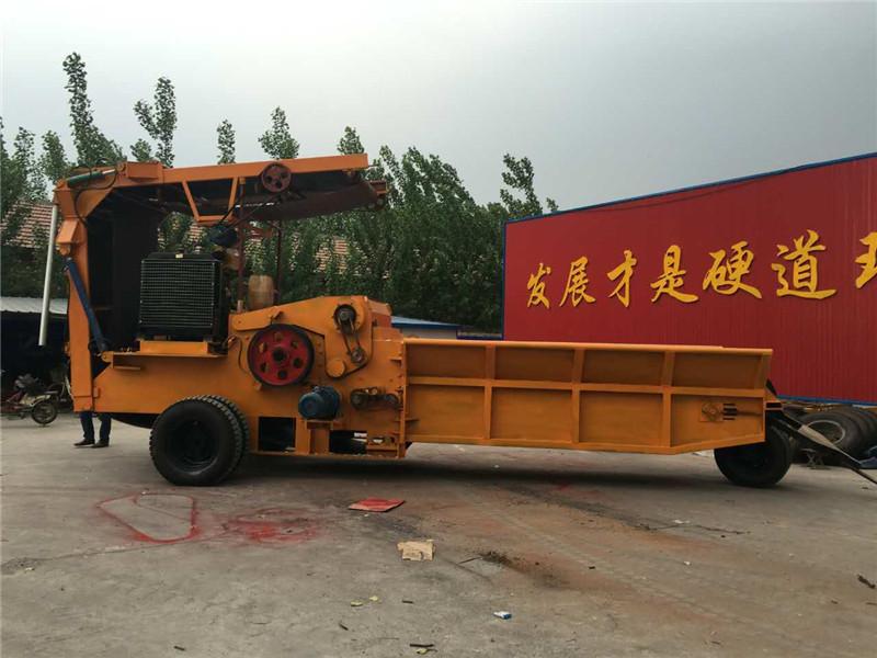 中王机械提供好的柴油机型木材破碎机,柴油型破碎机哪家好