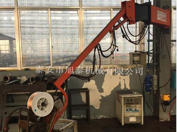 生廠廠家吸塵送絲機懸臂 吸塵送絲機懸臂旭泰機械高位焊接