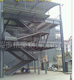 格豪钢构装饰_优质钢构楼梯厂家_沙溪钢结构楼梯安装