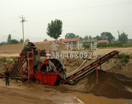 【特价】大型风化砂洗砂设备 山东金利 洗砂机价格