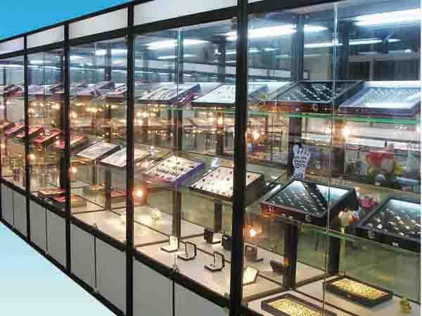 山东青州振兴商业柜台货架