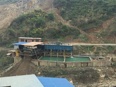 尾矿干排脱水设备