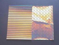 金银卡纸镭射卡纸-潍坊实用的镭射光柱卡纸推荐