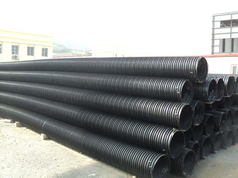 聚乙烯塑钢缠绕排水管十年老厂,专业生产