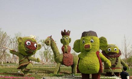 花柱厂家|龙达景观造型专业供应园艺造型图片