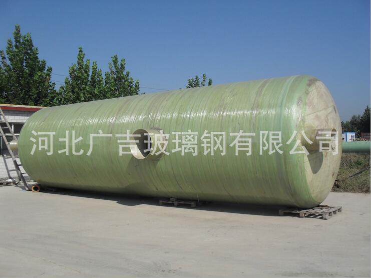玻璃钢化粪池厂家直销-立方玻璃钢化粪池用途