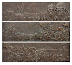 【凯文】兰州艺术品雕塑|兰州部队雕塑|兰州博物馆雕塑 skr