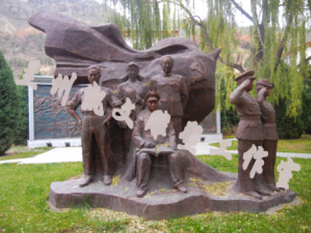【兰州部队雕塑】找兰州雕塑就来凯文雕塑工作室