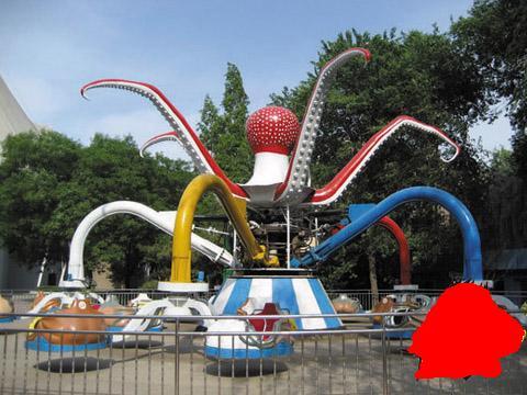 庙会广场游乐设备