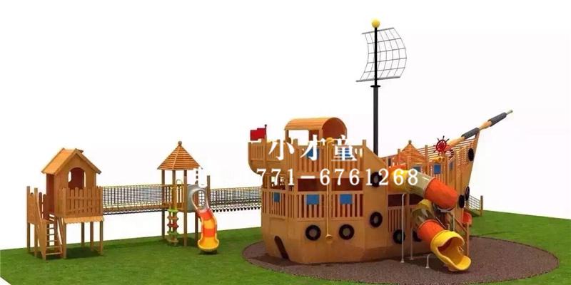 南宁幼儿园木质玩具设计-选购木制游乐设备就找南宁小才童