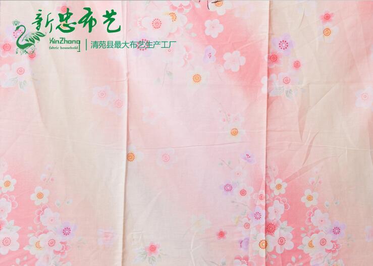 河南有品质的全棉斜纹棉报价-四件套布料批发直销