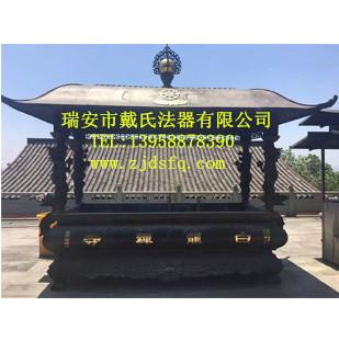 温州优质的佛教铜香炉公司|闸北方形铜香炉