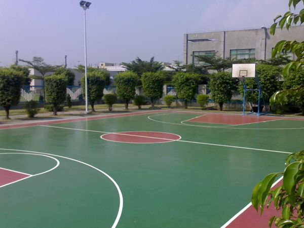 平凉硅pu篮球场施工-要买专业硅pu篮球场,当选兰州三番建材