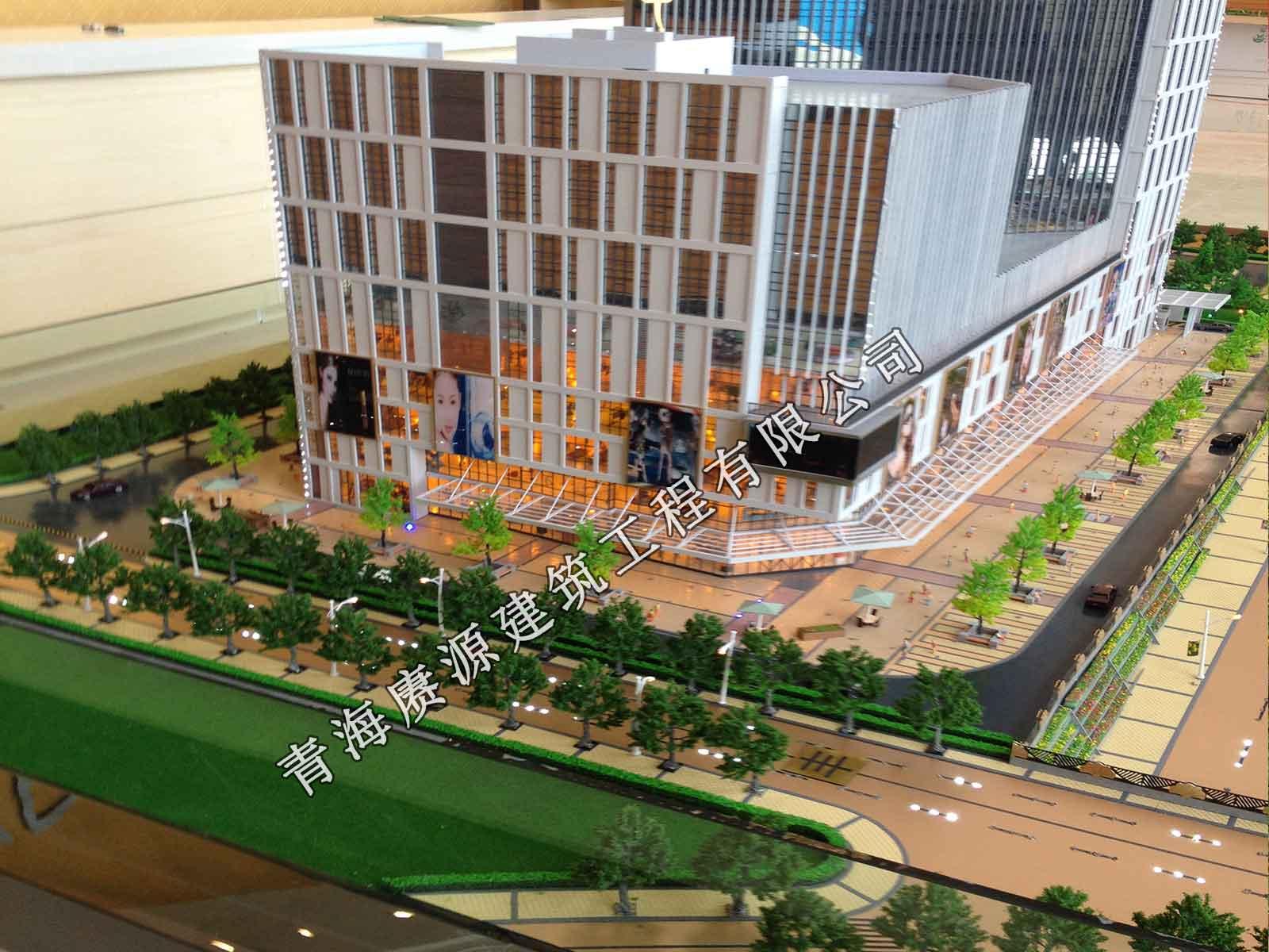 西宁知名的建筑沙盘模型供应商-博物馆沙盘模型