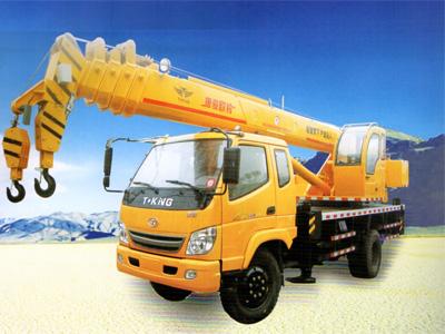 天水吊車租賃價格-選銷量好的吊車,就到田豐建筑機械設備