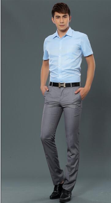 时尚的职业装-男士职业衬衫报价