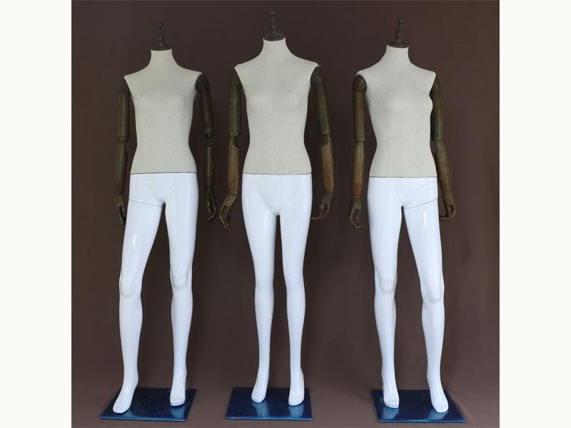 服装模特道具-仿木塑料拼接模特品牌,推荐庆达五金