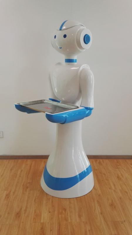 优质的宁夏盛仕智能无轨道送餐机器人在哪买 机器人价格
