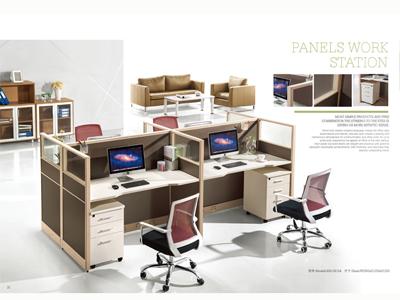 张掖办公桌屏风厂家-买优惠的办公桌屏风来甘肃宏达家具