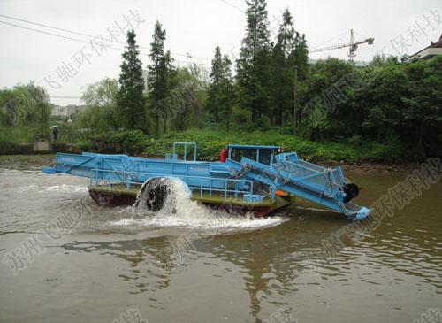 飞驰环保割草船怎么样-厂家批发割草船