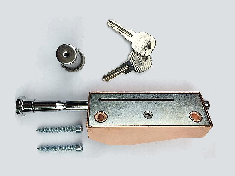信协五金的插销锁怎么样-五金旋转门门锁