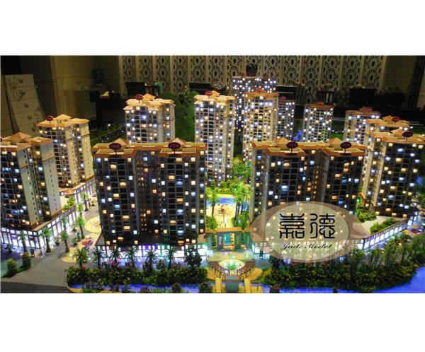 口碑好的南宁房地产模型-制作建筑模型就找南宁市嘉德建筑文化