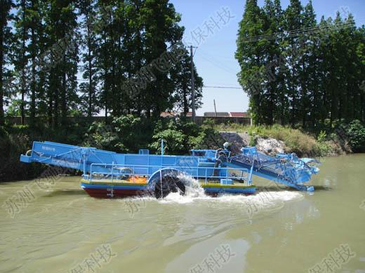 选购质量可靠的水葫芦打捞船就选飞驰环保|优质的水葫芦打捞船