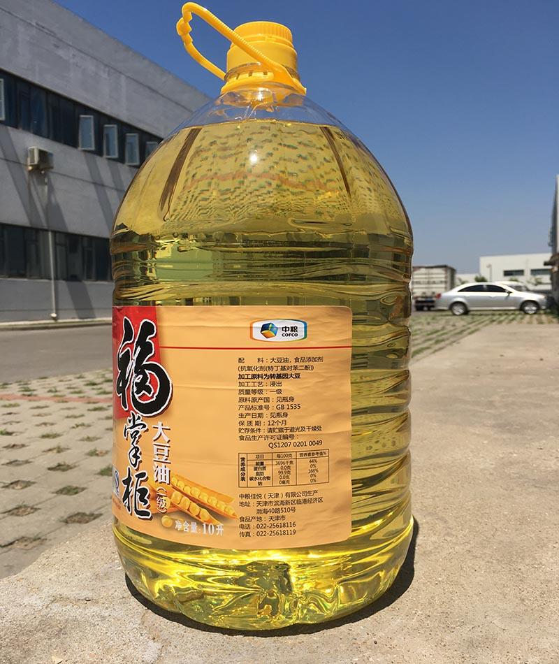 采购福掌柜一级大豆油就找天津利朋鸿泰科技有限公司|山东棕榈油