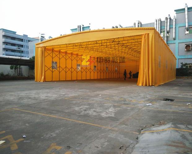 具有口碑的推拉篷市场价,可移动篷房排挡推拉蓬