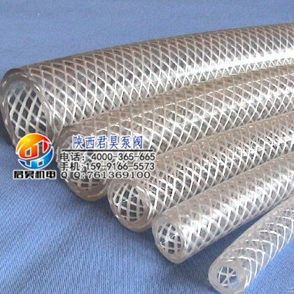 钢丝增强软管价格如何 供应西安口碑好的透明PVC钢丝增强软管