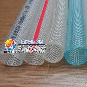 君昊机电设备畅销的透明PVC钢丝增强软管出售,塑料软管价钱如何