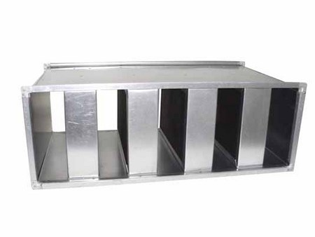 双层微穿孔消声器价格 价位合理的折板式消声器供应信息