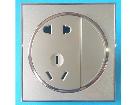 永红电器有限公司专业供应一开五孔插座_质量好的一开五孔插座价位