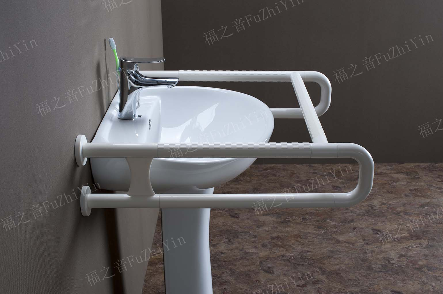 廠家推薦F-W0111-U型水平洗手盆專用落地扶手專用扶手廠家直銷,價位合理的U型水平洗手盆專用落地扶手品牌推薦