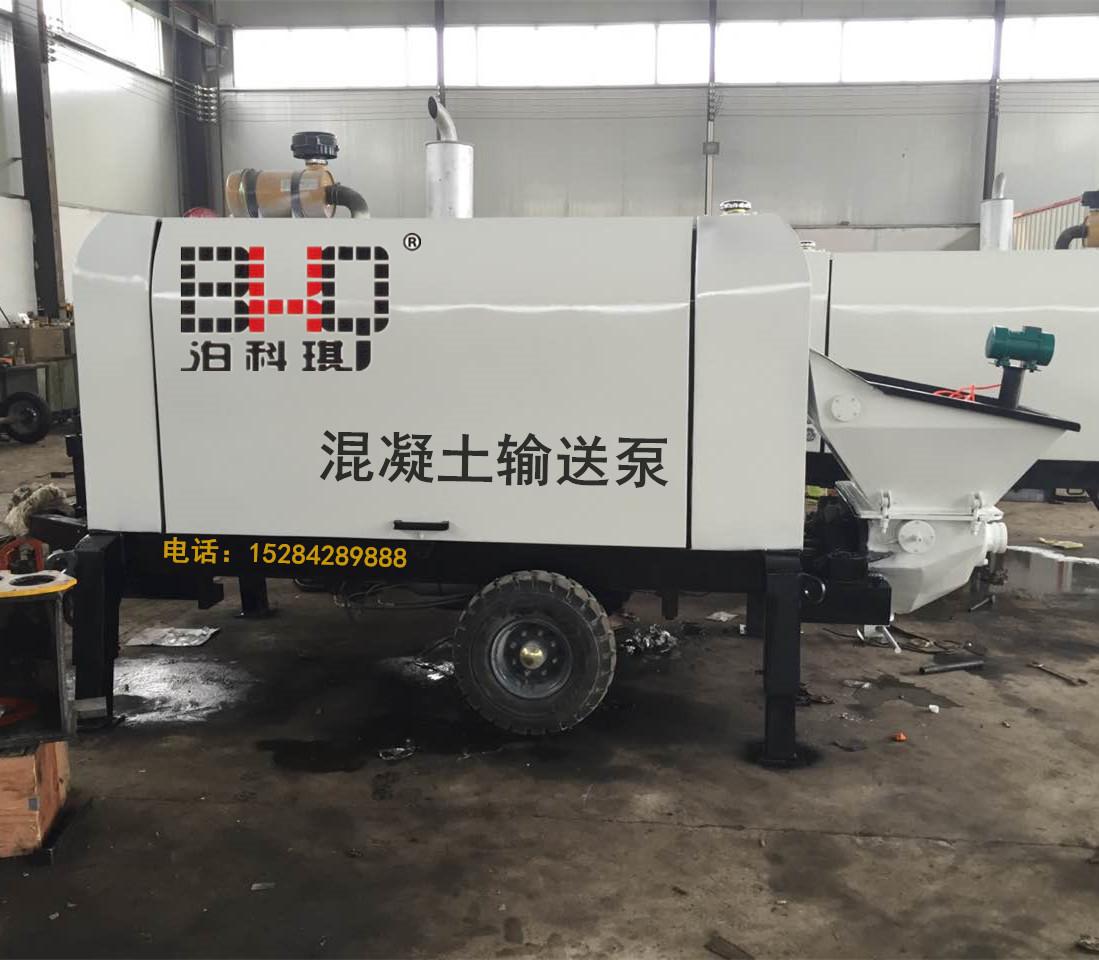 拖泵价格_高品质的柴油混凝土输送泵哪里有卖
