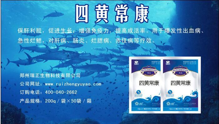 哪里能买到品质好的水产专用药四黄常康-促销优质的鱼虾蟹药