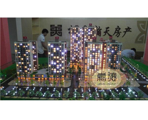 南宁沙盘模型定制_房地产模型当选南宁市嘉德建筑文化