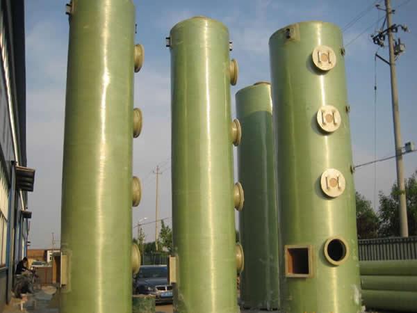 江苏玻璃钢脱硫除尘器,上等玻璃钢脱硫除尘器华强科技有限公司供应