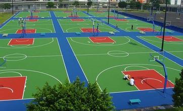 大庆硅PU球场厂家|沈阳质量好的硅pu球场