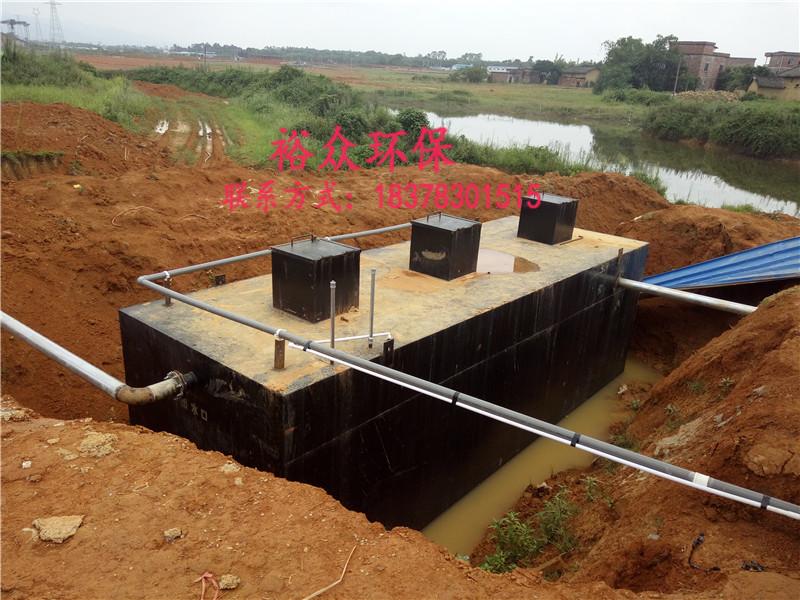 桂林污水处理设备厂家,地埋式一体化污水处理设备有哪些优势