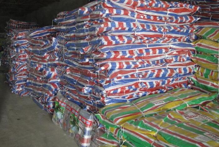 专业生产彩条布-好用的彩条布-兰州霍氏篷布提供