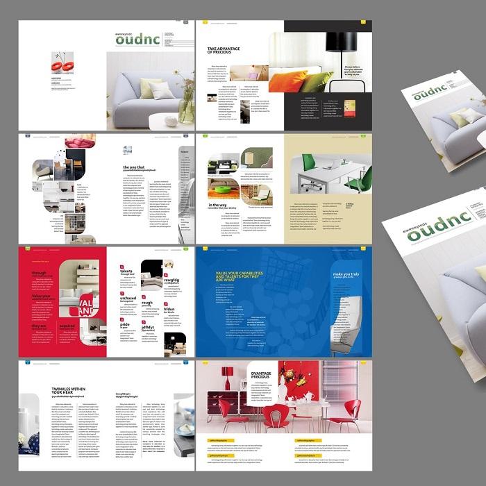 郑州家具宣传册设计-划算的家具画册设计出自深港文化传播公司