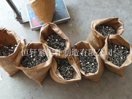 河北现货供应GB6170新标螺母镀锌螺母永年厂家 买高强度镀锌螺母恒轩紧固件公司