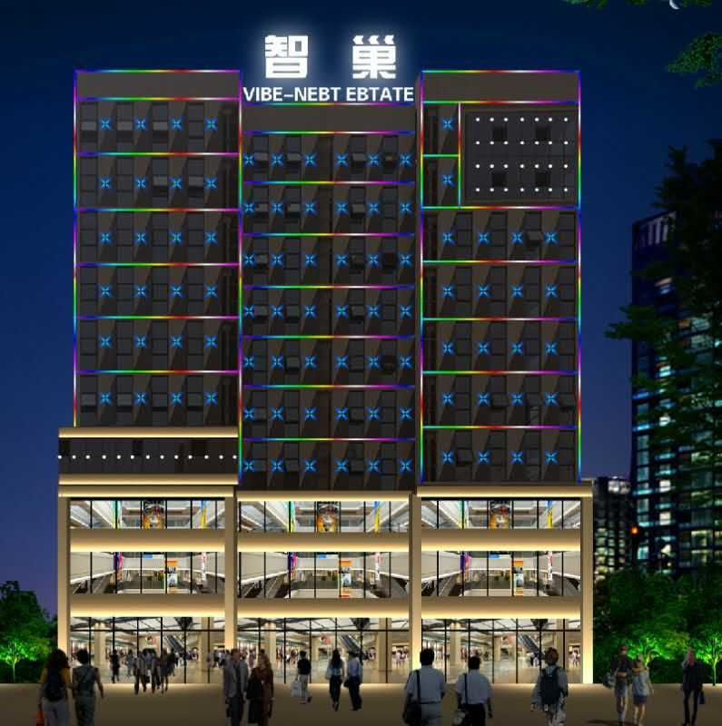 西安樓體亮化價格-西安鑫城廣告專業提供樓體亮化