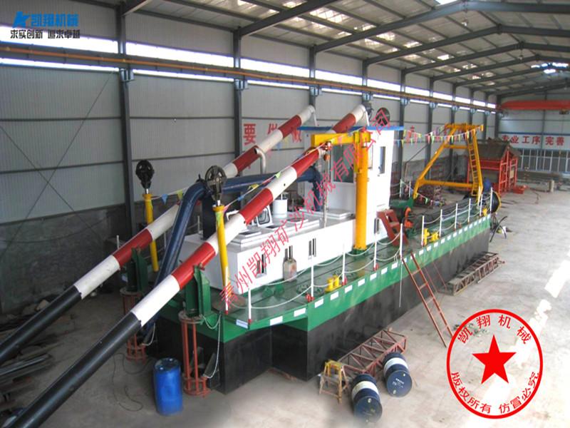 西藏挖泥船_供应山东价位合理的绞吸挖泥船