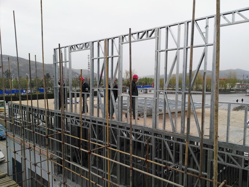 玉树轻钢别墅工程-出售天水性价比高的轻钢房屋