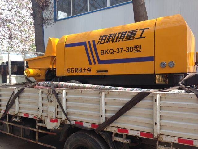 混凝土输送泵性能特点
