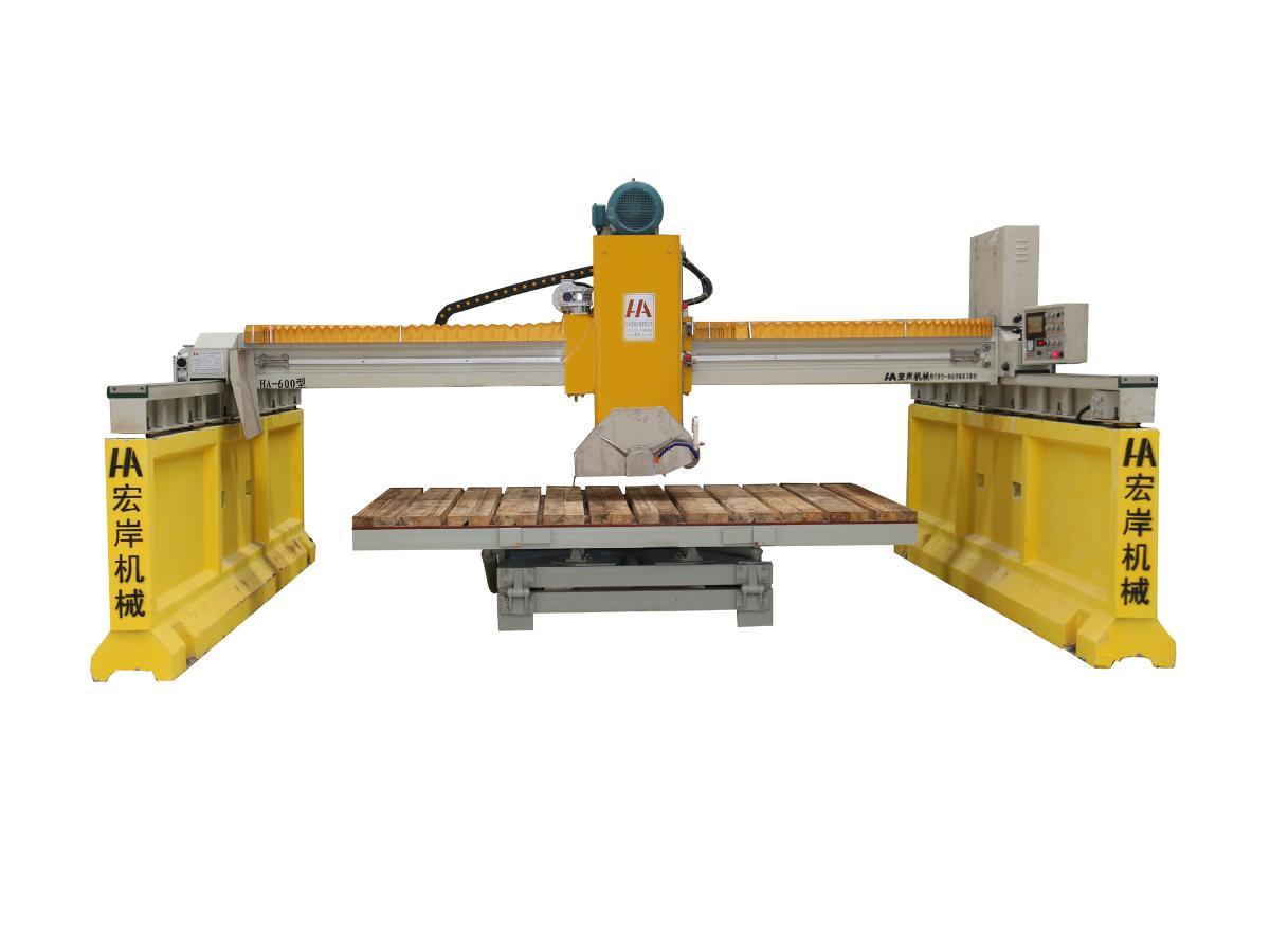 宏岸机械——专业的红外线导柱桥式切石机提供商 红外线桥切机供应商