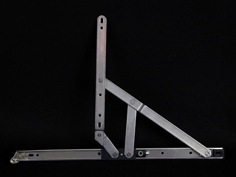不锈钢窗撑供应商-肇庆销量好的左右头窗撑16寸22方平开右边铰出售