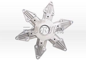 专业订做铝轮叶角-潍坊品牌好的风机配件铝轮叶角供销